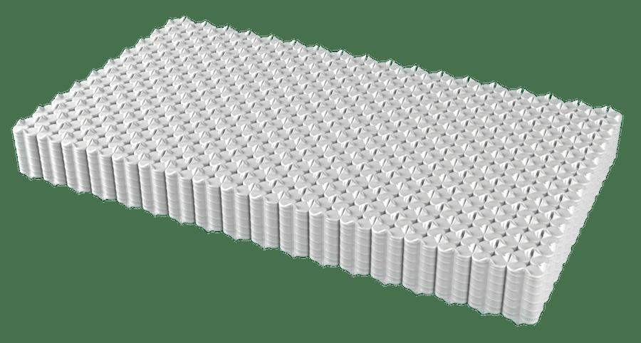 Consejos para comprar una cama: Núcleo colchón con muelles ensacados