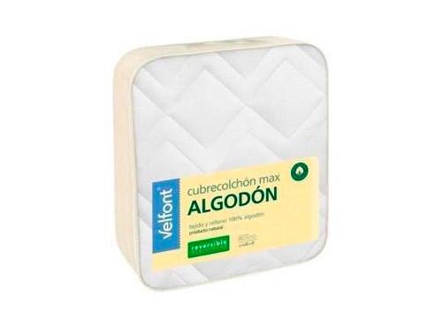 Cubrecolchón Máx Algodón - Protección de cama - Ensueños, tiendas de descanso