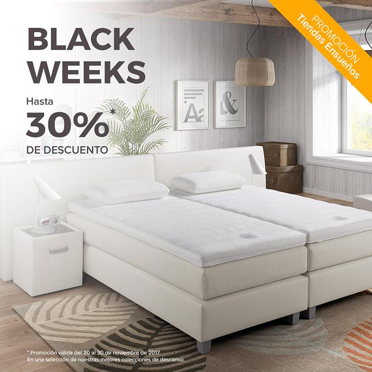 Black Week de Tiendas Ensueños. 30% de descuento.