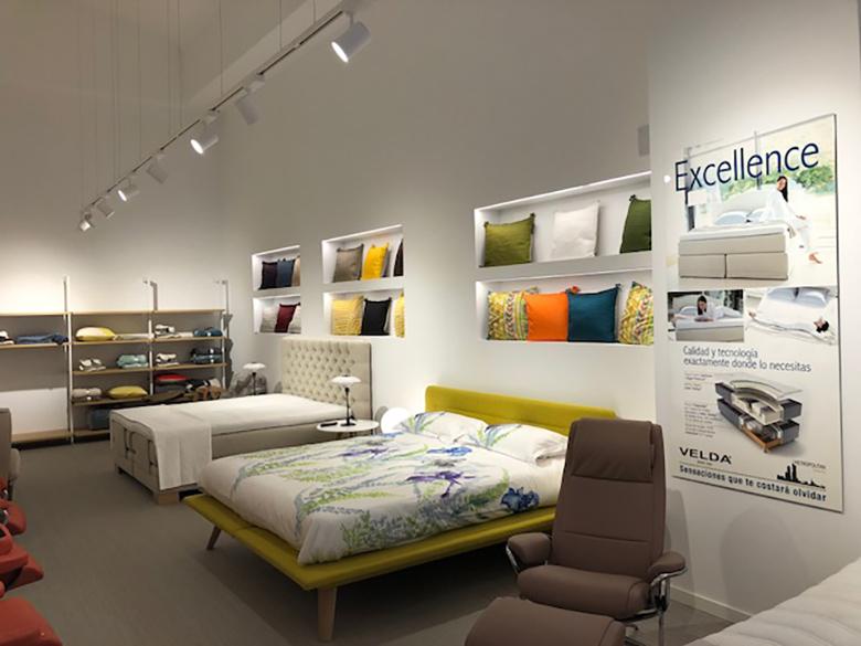 Imagen del interior de la tienda ENSUEÑOS Bilbao