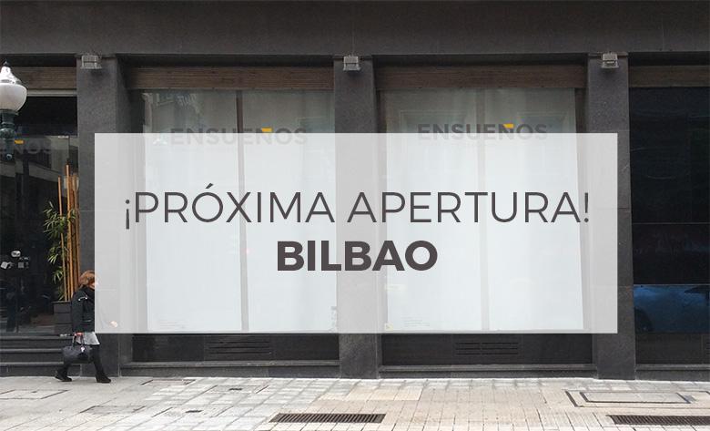 Fotografía de la nueva tienda ENSUEÑOS en Bilbao