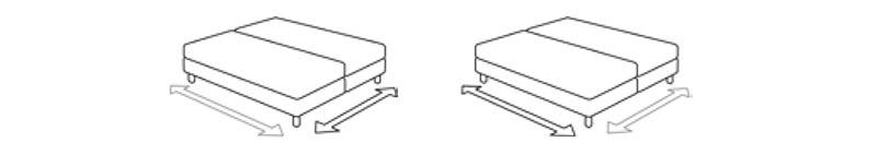 Posibles dimensiones de la Cama Versus