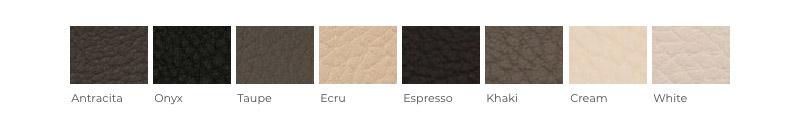 Variedad de simil piel para la personalización de la Cama Versus