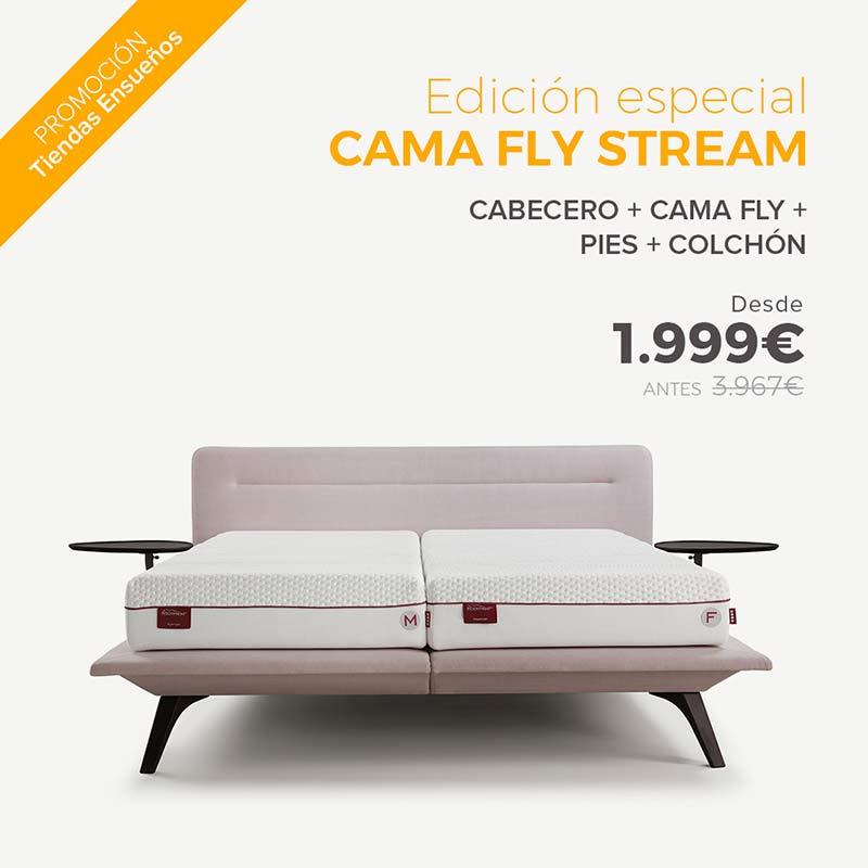 oferta cama Fly Stream de tiendas ensueños
