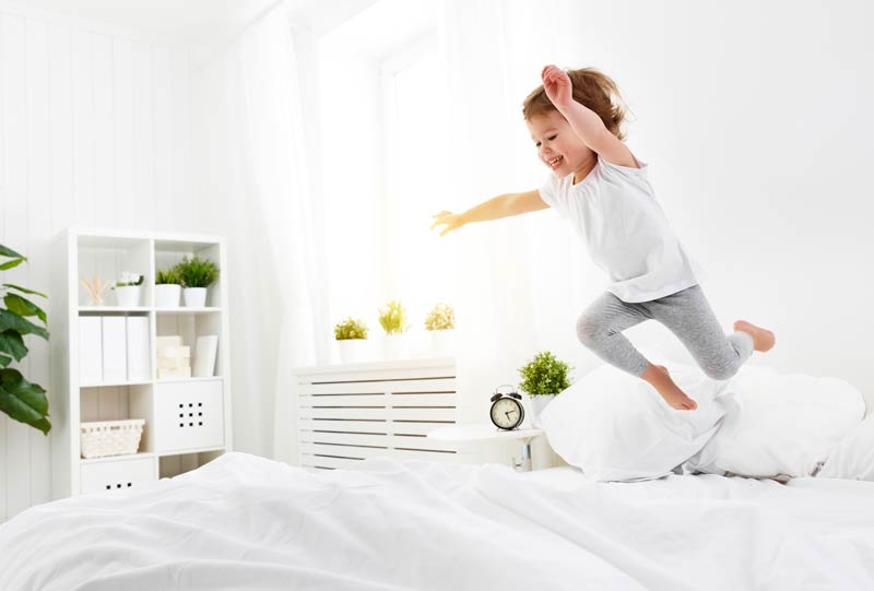 Elasticidad y alivio de la presión en el colchón Bodyprint