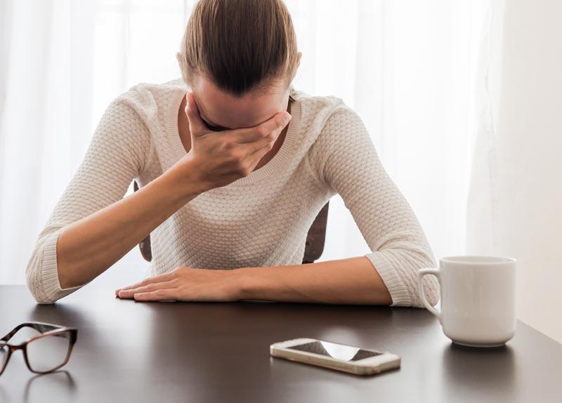 Consecuencias del insomnio digital durante el día