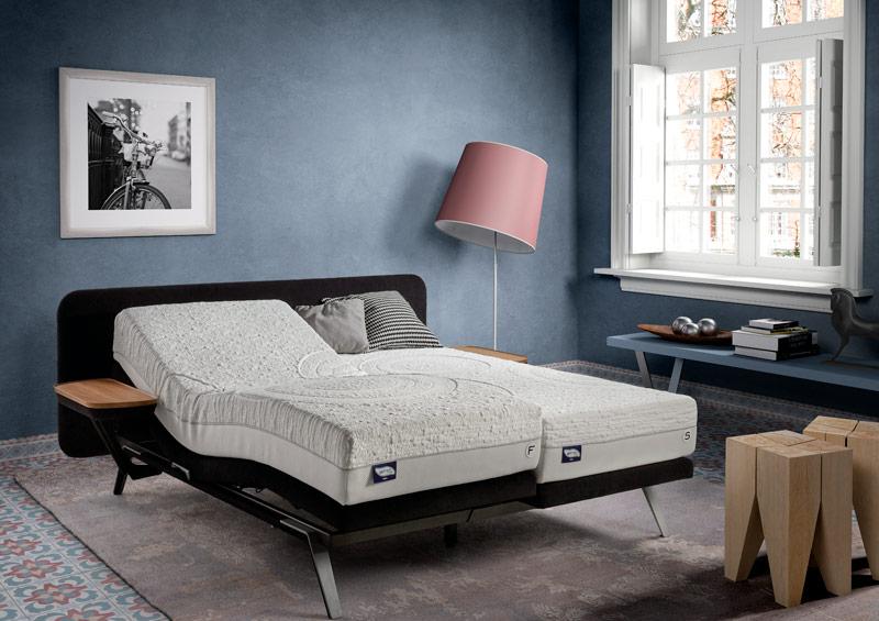 Colchón Gelfresh Pocket sobre cama Fly