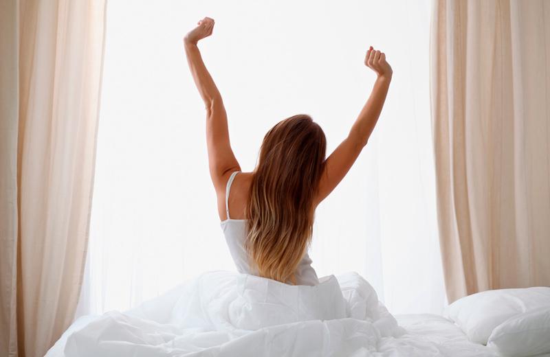 Despertarse bien descansado