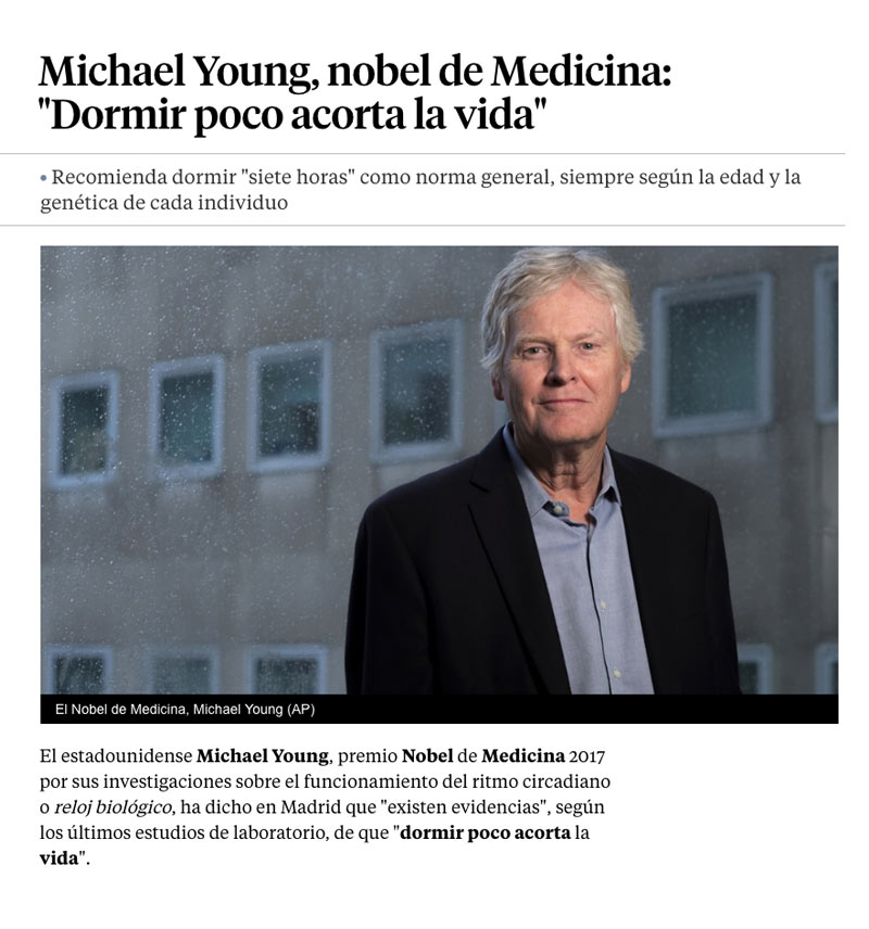 Michael Young, nobel de medicina