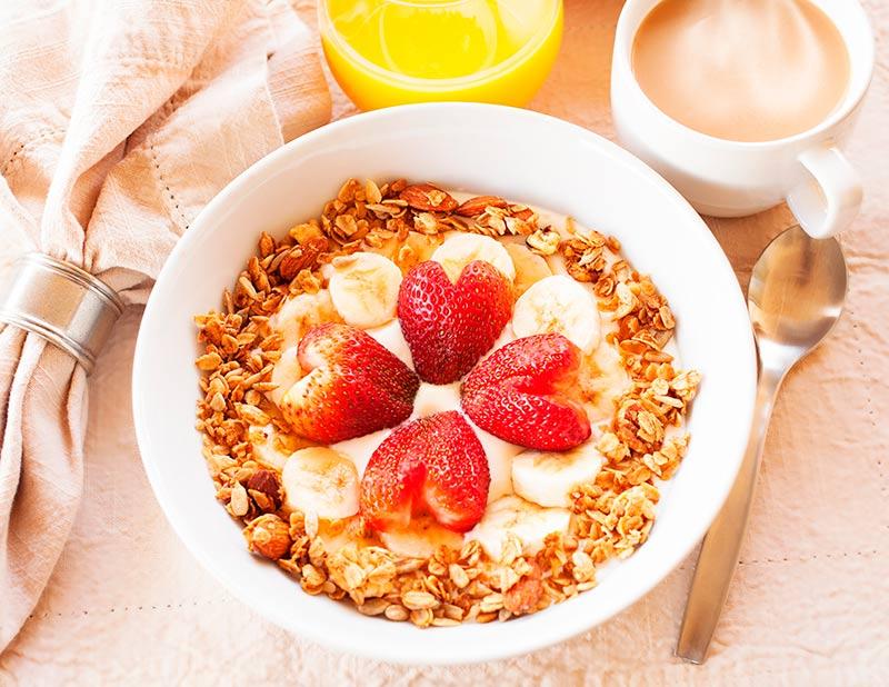 El desayuno, la comida mas importante del dia