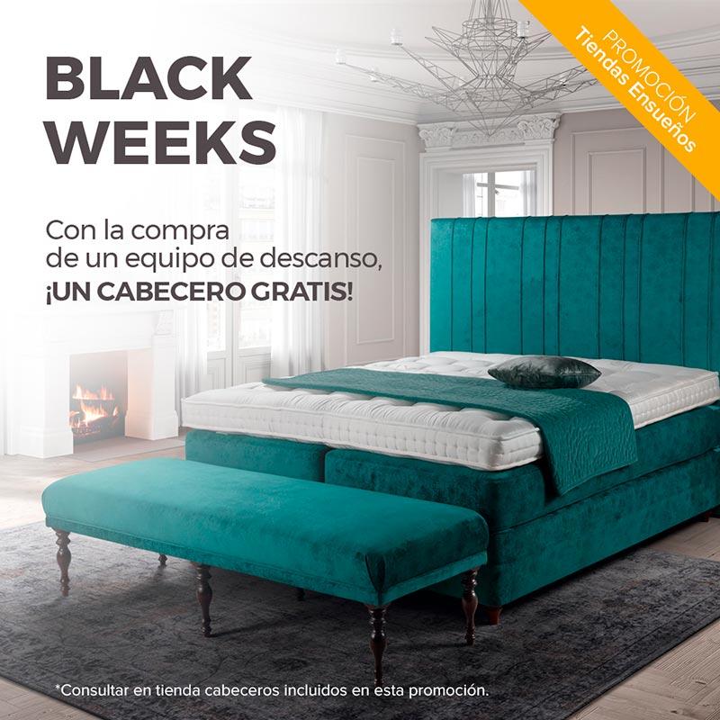 Black weeks. Promociones que duran tres semanas.