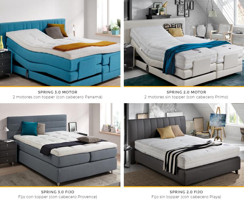 Set Spring modelos de cama