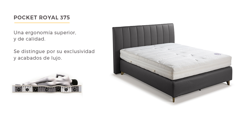 Set Velda - colchon-POCKET-ROYAL-375
