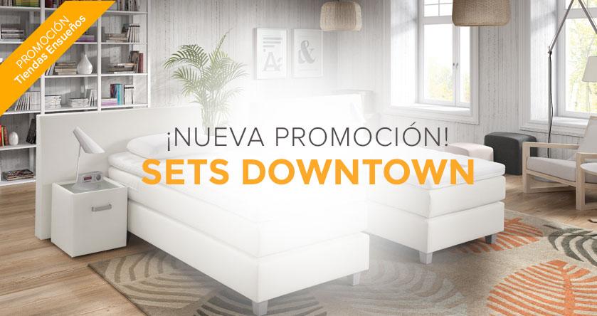 Sets Downtown en promoción en las tiendas de Ensueños
