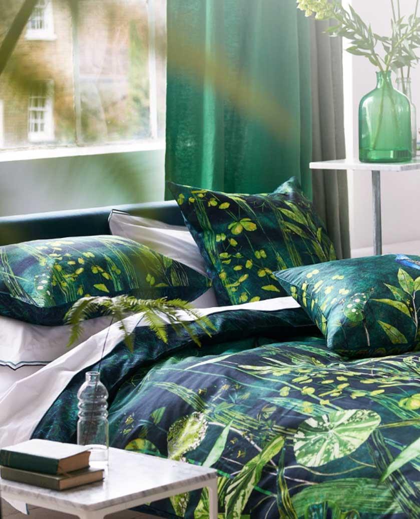 Ropa de cama de la nueva colección disponible en las tiendas de Ensueños