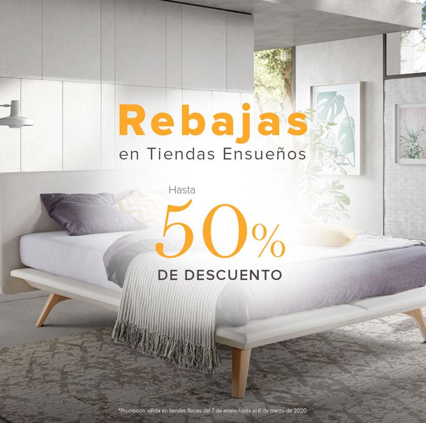 Imagen de la campaña de rebajas de las tiendas de Ensueños