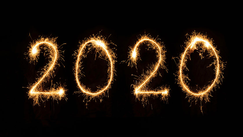Imagen del nuevo año 2020 en las tiendas Ensueños