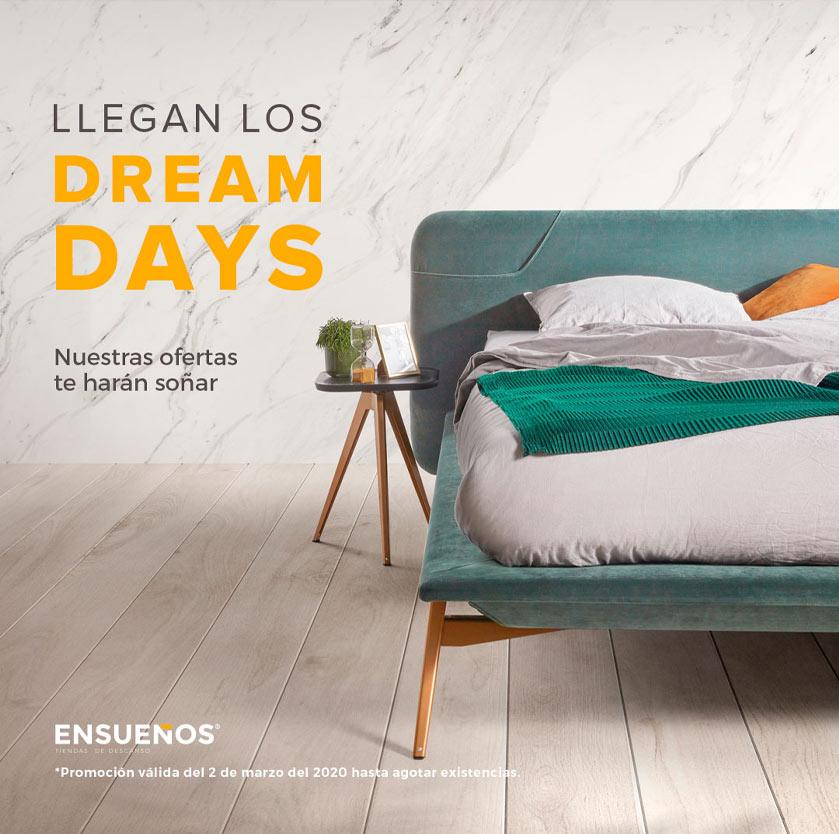 """Imagen de la campaña """"Dream Days"""" de las tiendas Ensueños"""